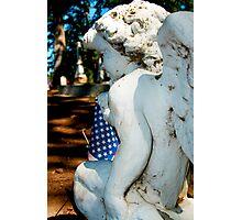Patriot Angel Photographic Print