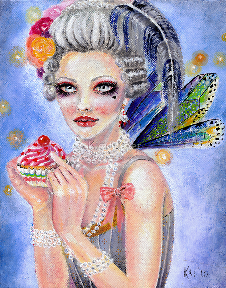 Marie Antoinette - Let them eat cupcake... by KimTurner