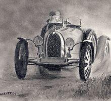 Bugatti Racer by Michael Beckett