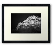 And The Sky Opened Up Framed Print