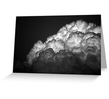 And The Sky Opened Up Greeting Card