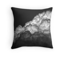 And The Sky Opened Up Throw Pillow