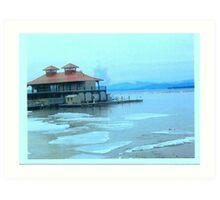 The House On The Lake Art Print