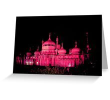 Pink Pavilion for Gay Pride, Brighton. £22.00 mounted and framed Greeting Card