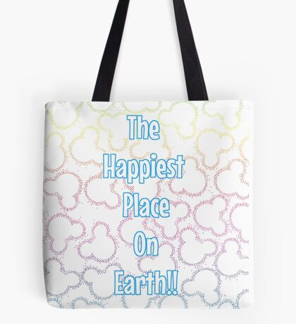 Happiest Place on Earth! Tote Bag