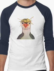 Rock Hopper Penguin Men's Baseball ¾ T-Shirt