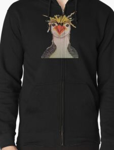 Rock Hopper Penguin Zipped Hoodie