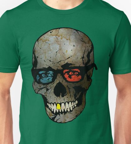 Life Seems Much More Exciting For Skullboy Since He Got A New Pair Of Glasses T-Shirt