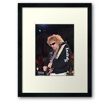 Sammy Hagar in concert in Tahoe Framed Print