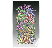 Wire Flowers Poster