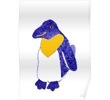 Karen's penguin Poster