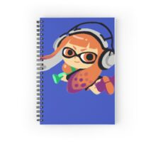 Inkling Girl Spiral Notebook
