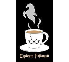 Espresso Patronum - Horse Photographic Print