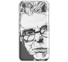 W.B. Yeats Portrait iPhone Case/Skin