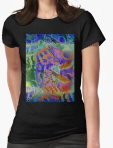 5734rb Buddha Womens Fitted T-Shirt