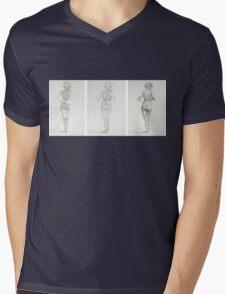 figure study Mens V-Neck T-Shirt