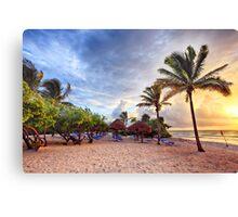 Beach Dawn Canvas Print