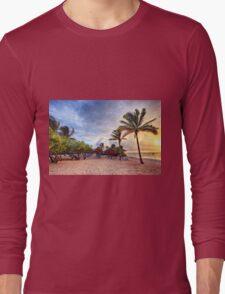 Beach Dawn Long Sleeve T-Shirt
