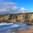 Trebarwith Strand by David Wilkins