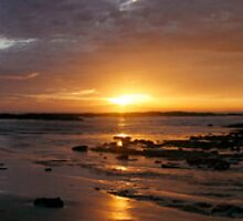 Blanket Bay Sunrise Panorama by Richard Heath