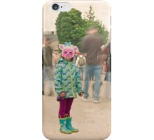Lamb at the market iPhone Case/Skin