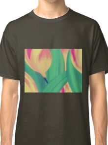 In the Garden of Tulips Classic T-Shirt
