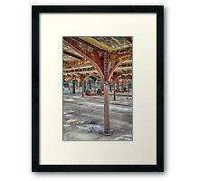Silent Rust Framed Print