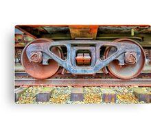 Rusty Wheels Canvas Print