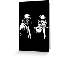 Star Fiction (Pulp Wars) Greeting Card