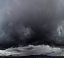 ©HCS The Cumulonimbus Shield Before Rain IA. by OmarHernandez