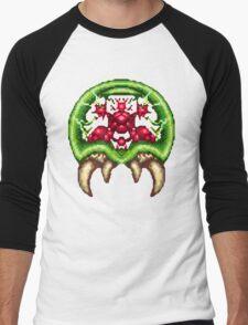 Super Metroid - Giant Metroid Men's Baseball ¾ T-Shirt