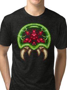 Super Metroid - Giant Metroid Tri-blend T-Shirt
