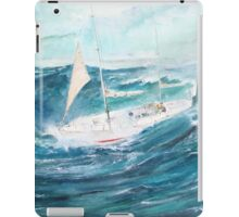 Gypsy Moth 1V - Rounding Cape Horn in a gale... iPad Case/Skin