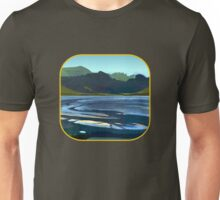 Low Tide, Late Evening Unisex T-Shirt