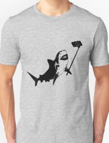 Shark Selfie Stick Unisex T-Shirt