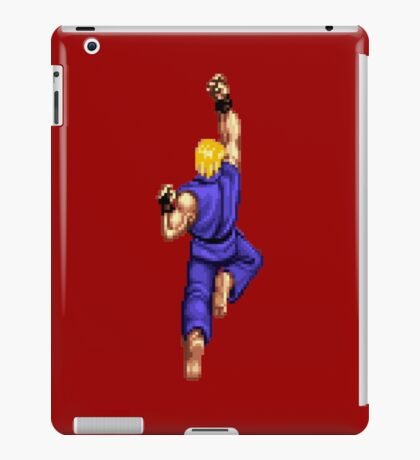 Blue Ken Shoryuken iPad Case/Skin