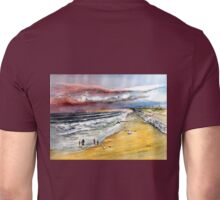 San Clemente Beach - blustery day Unisex T-Shirt