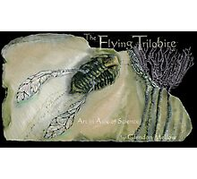 The Flying Trilobite 3 - black version Photographic Print