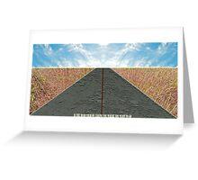 Road of life Greeting Card