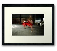 ballet 10 Framed Print