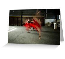 ballet 10 Greeting Card