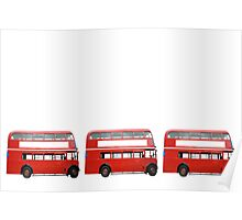 Three Buses Poster