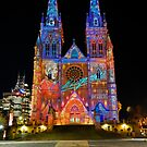 Vivid Sydney 2010 | St. Mary's Cathedral 2 by DavidIori