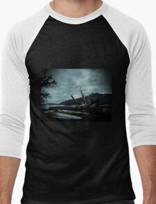 Ghost Surfers Cove Men's Baseball ¾ T-Shirt