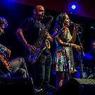 Andrea Motis & Joan Chamorro Group at Love Supreme Jazz Festival 2015  by MarcW