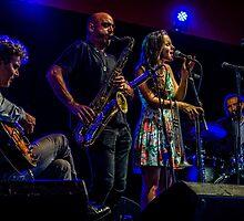 Andrea Motis & Joan Chamorro Group at Love Supreme Jazz Festival 2015  by MarcW