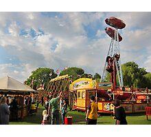 All The FUN of the FAIR: Carter's Fair, Dulwich, London. Photographic Print