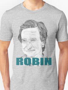 Robin Williams Portrait  T-Shirt