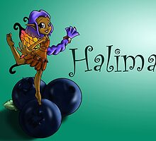 Blueberry Fairy Halima by treasured-gift