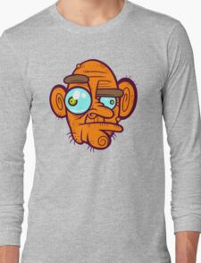 Old Poker Face Long Sleeve T-Shirt